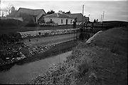 06-10/04/1964.04/06-10/1964.06-10 April 1964.Views on the River Shannon. The dried up end of the Royal Canal at Killashee near Lanesboro, at its junction with the river Shannon, show the importance of the work done by the various Ireland Waterways Associations and clubs.