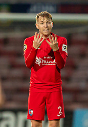 WREXHAM, WALES - Thursday, September 17, 2020: Connah's Quay Nomads' John Disney during the UEFA Europa League Second Qualifying Round match between Connah's Quay Nomads FC and FC Dinamo Tbilisi at the Racecourse Ground. Dinamo Tiblisi won 1-0. (Pic by David Rawcliffe/Propaganda)
