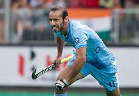 ANTWERP -    Ramandeep Singh of India has scored 2-2 during  the hockeymatch   India v Pakistan.  WSP COPYRIGHT KOEN SUYK