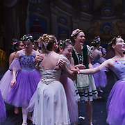 during a performance of The Nutcracker at the Clay Center for the Arts and Sciences in Charleston on Wednesday, December 07, 2017.