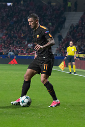November 22, 2017 - Madrid, Madrid, Spain - Kolarov..during Atletico de Madrid won by 2 to 0 whit goals of Griezmann and Gameiro against Roma. (Credit Image: © Jorge Gonzalez/Pacific Press via ZUMA Wire)