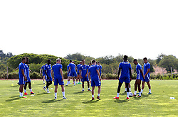 Bristol Rovers prepare for training on their first day in Portugal - Mandatory by-line: Robbie Stephenson/JMP - 18/07/2017 - FOOTBALL - Colina Verde Golf & Sports Resort - Moncarapacho, England - Sky Bet League One