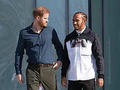 The Duke of Sussex at Silverstone - 6 March 2020