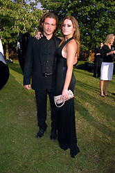 MANUELLE MALENOTTI and Singer LOLA PONCE at the annual Serpentine Gallery Summer Party in association with Swarovski held at the gallery, Kensington Gardens, London on 11th July 2007.<br /><br />NON EXCLUSIVE - WORLD RIGHTS
