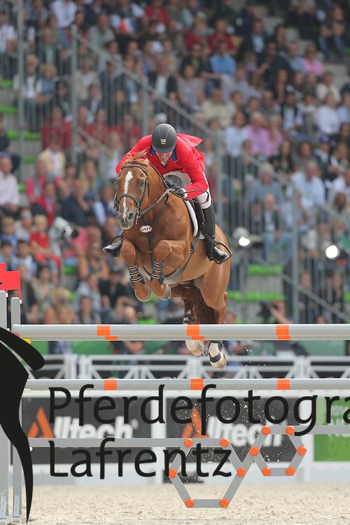 Ward, McLain, Rothchild<br /> Normandie - WEG 2014<br /> Springen - Finale IV<br /> © www.sportfotos-lafrentz.de/ Stefan Lafrentz