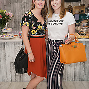 Bloggers Laura Stevens ,Abbie Whitehead attends the Threads & Co Beauty launches permanent retail concept store everything from coffee to beauty to retail therapy on 24th May 2017. by See Li