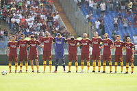 Roma players during 1minute silence in memory of Maria Sensi.<br /> Roma 16-09-2018 Stadio Olimpico Football Calcio Serie A 2018/2019 AS Roma - Chievo <br /> Foto Antonietta Baldassarre / Insidefoto