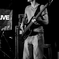 Alphabet Backwards  performs live at the In The City festival, Chicago Rock Cafe, Manchester, UK, 2008-10-05