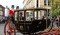The wedding of Princess Eugenie and Jack Brooksbank at Windsor Castle. 12 Oct 2018 Pictured: The wedding of Princess Eugenie and Jack Brooksbank at Windsor Castle. Photo credit: W8Media / MEGA TheMegaAgency.com +1 888 505 6342