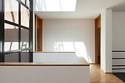 Architecture, Interiors of empty apartment, passage view