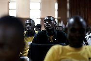 Members of the LGBT community and their supporters attend a conference for homosexuals living in Uganda. The meeting was the first attempt by the LGBT community in Uganda to unite people against a proposed anti-homosexuality bill in the countries parliment.