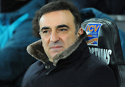 Swansea City manager Carlos Carvalhal looks on - Mandatory by-line: Nizaam Jones/JMP - 06/02/2018 - FOOTBALL - Liberty Stadium - Swansea, Wales - Swansea City v Notts County - Emirates FA Cup fourth round proper