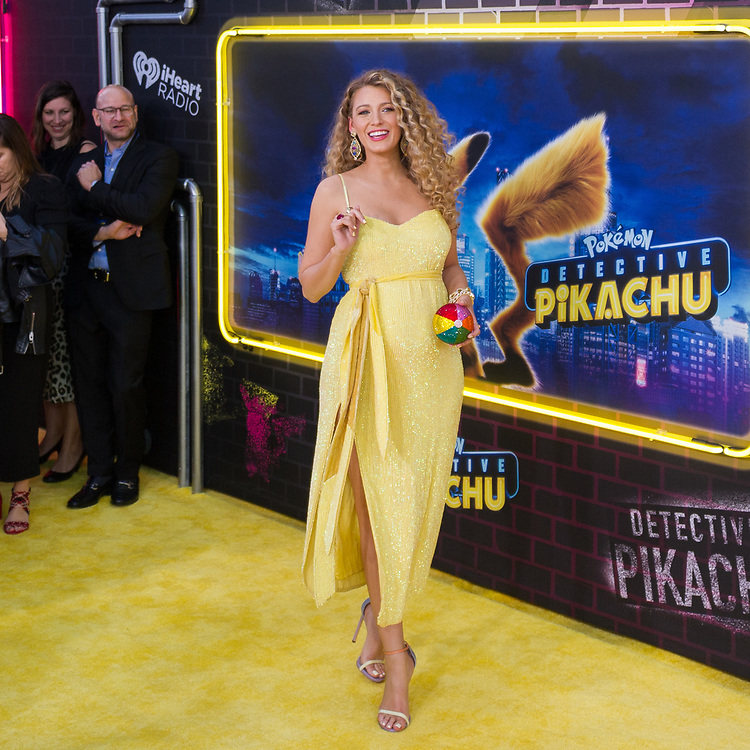 Blake Lively at the Pokémon Detective Pikachu Premiere in New York City.