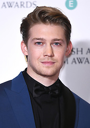 Joe Alwyn in the press room after winning the award for Best Film Not In The English Language and Best Original Screenplay at the 73rd British Academy Film Awards held at the Royal Albert Hall, London.. Photo credit should read: Doug Peters/EMPICS