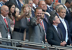Manchester United chief executive Ed Woodward in the stands