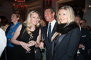 HUGH MORRISON; AMANDA WAKELEY; , The Veuve Clicquot Business Woman Of The Year Award, celebrating women's excellence in business and commitment to sustainability. Claridge's, Brook Street, London, 22 April 2013
