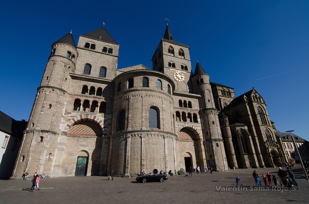 The Cathedral of Trier is the oldest church in Germany and since 1986 is part of UNESCO World Heritage.
