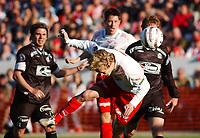 Dag Frode Hornseth, Fredrikstad, utlikner til 3-3. Tippeligaen 2004. Fredrikstad - Sogndal 3-3. 16. mai 2004. (Foto: Peter Tubaas/Digitalsport).