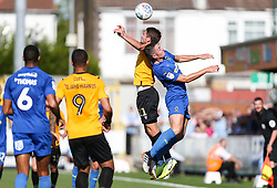 Luke Leahy of Bristol Rovers climbs highest to win a header - Mandatory by-line: Arron Gent/JMP - 21/09/2019 - FOOTBALL - Cherry Red Records Stadium - Kingston upon Thames, England - AFC Wimbledon v Bristol Rovers - Sky Bet League One