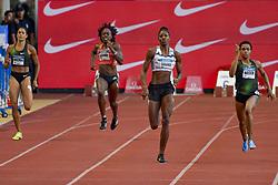 July 20, 2018 - Monaco, France - 400 metres dames - Libania Grenot (Italie) - Jessica Beard (Etat Unis) - Shaunae Miller Uibo (Bahamas) - Salwa Eid Naser  (Credit Image: © Panoramic via ZUMA Press)