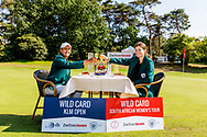 21-07-2018 Pictures of the final day of the Zwitserleven Dutch Junior Open at the Toxandria Golf Club in The Netherlands.  Traditional dinner for the winners with KAEWKANJANA, Sadom (TH) and SOHIER, Anouk (NL)