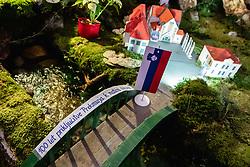 Jaslice, ki so rocno delo sester klaris, on January 24, 2019 in Turnisce, Murska Sobota, Slovenia. Photo by Blaž Weindorfer / Sportida