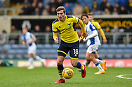 Oxford United Midfielder, Joe Rothwell (18) scorer of the opening goal during the EFL Sky Bet League 1 match between Oxford United and Bristol Rovers at the Kassam Stadium, Oxford, England on 10 February 2018. Picture by Adam Rivers.