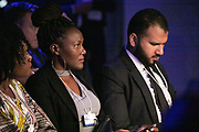Participants listen during the session From Start-Ups to Scale-Ups at the World Forum World Economic Forum on Africa 2019. Copyright by World Economic Forum / Greg Beadle