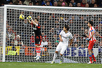 01.12.2012 SPAIN -  La Liga 12/13 Matchday 14th  match played between Real Madrid CF vs  Atletico de Madrid (2-0) at Santiago Bernabeu stadium. The picture show Iker Casillas (spanish goalkeeper of Real Madrid)