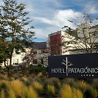 South America, Chile, Puerto Varas. Hotel Patagonico.