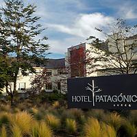 South America, Chile, Puerto Varas. Hotel Patagonico.