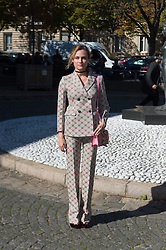Diane Kruger attending the Miu Miu's Spring-Summer 2016/2017 Ready-To-Wear collection show in Paris, France, on October 5, 2016. Photo by Nicolas Genin/ABACAPRESS.COM