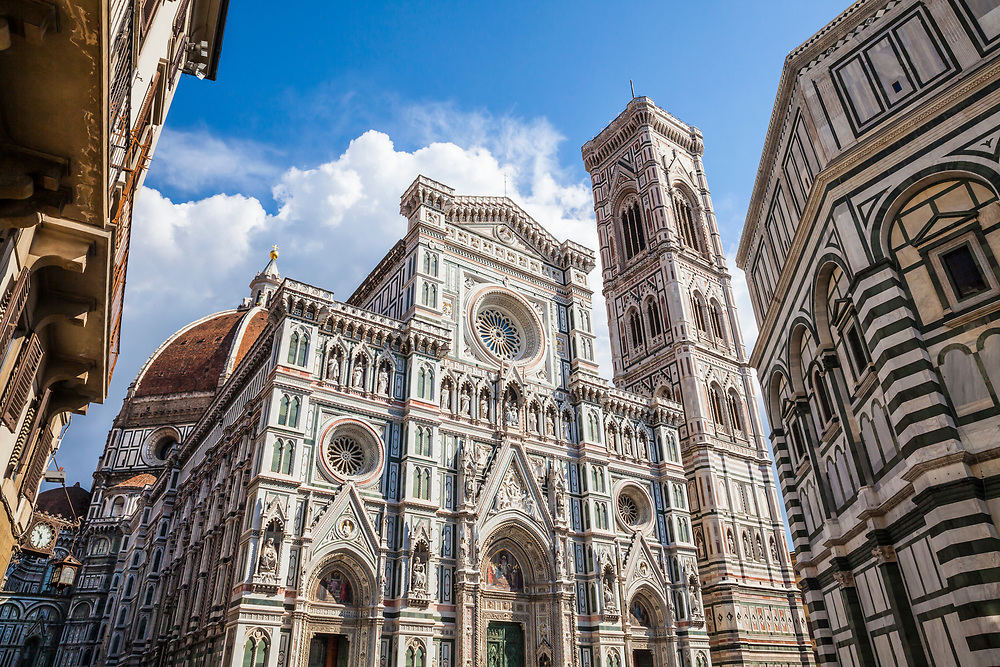The Duomo / Cathedral of Santa Maria del Fiore in Florence, Italy.