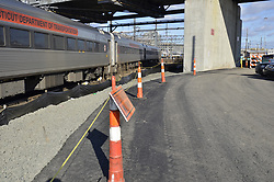 New Haven Rail Yard, Independent Wheel True Facility. CT-DOT Project # 0300-0139, New Haven CT. Progress Photograph of Construction Progress Photo Shoot 6 on 16 December 2011