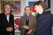 JOHN ILSLEY, CLIVE JENNINS, PHINEAS JENNINGS, London Original Print Fair Preview, Royal Academy,  London. 24 April 2019