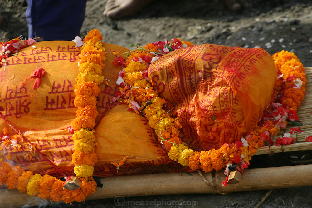 A young Nepalese boy studying sanskrit at an ashram in Varanasi was swimming with friends in the Ganges River and drowned.