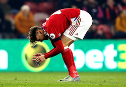 Gaston Ramirez of Middlesbrough looks at the ground in frustration - Mandatory by-line: Robbie Stephenson/JMP - 05/12/2016 - FOOTBALL - Riverside Stadium - Middlesbrough, England - Middlesbrough v Hull City - Premier League