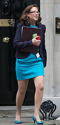 Downing Street, London, October 11th 2016. Government ministers leave the first post-conference cabinet meeting. PICTURED: Lord Privy Seal and Leader of the House of Lords Baroness Natalie Evans