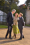 Henry Wyndham, Lucy Manners and Lord Dalmany. Easton Neston reception hosted by Sotheby's. 13 May 2005. ONE TIME USE ONLY - DO NOT ARCHIVE  © Copyright Photograph by Dafydd Jones 66 Stockwell Park Rd. London SW9 0DA Tel 020 7733 0108 www.dafjones.com