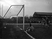 1961 - League of Ireland: Drumcondra v Cork Celtic at Tolka Park
