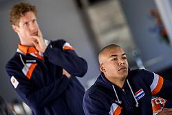 10-05-2017 NED: Selectie Nederlands volleybal team mannen 2017, Arnhem<br /> Op Papendal werd de selectie gepresenteerd / Nimir Abdelaziz