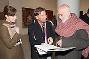 RACHEL HOWARD; JASON MARTIN; FRANCESCO CLEMENTE, Mandala for Crusoe, Exhibition of work by Francesco Clemente. Blain/Southern. Hanover Sq. London. 29 November 2012
