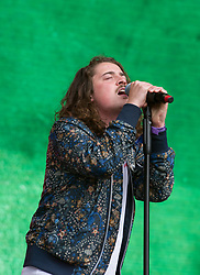 Knox Fortune perform on stage on day 1 of All Points East festival in Victoria Park in London, UK. Picture date: Friday 25 May 2018. Photo credit: Katja Ogrin/ EMPICS Entertainment.