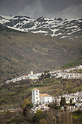 Towns of Bubion and Capileira in Spain
