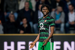 Miquel Nelom of Feyenoord during the Dutch Eredivisie match between Heracles Almelo and Feyenoord Rotterdam at Polman stadium on September 09, 2017 in Almelo, The Netherlands