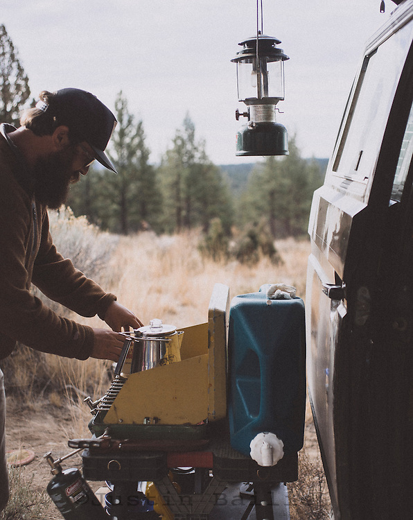 First things first. Van camping. Decend on Bend. Central Oregon.
