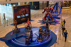 April 25, 2018 - Shanghai, Shanghai, China - Shanghai, CHINA-25th April 2018:The 'Avengers: Infinity War' Exhibition is held at a shopping mall in Shanghai. (Credit Image: © SIPA Asia via ZUMA Wire)