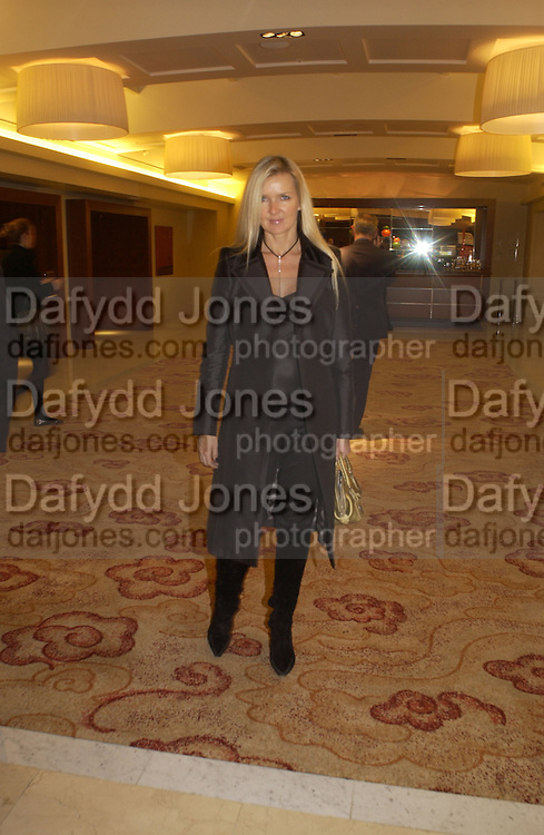 Amanda Wakeley. 'Dirty politics, Dirty times: My fight with Wapping and New Labour' by Michael Ashcroft. Book launch party in aid of Crimestoppers. Riverbank Plaza Hotel. London SE1.      October 10 2005. ONE TIME USE ONLY - DO NOT ARCHIVE © Copyright Photograph by Dafydd Jones 66 Stockwell Park Rd. London SW9 0DA Tel 020 7733 0108 www.dafjones.com