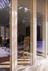 Broken Window From Coopers Hawk