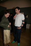 Sophie Evans and Jason Evans, How We Are- Photographing Britian. Opening at the Tate. Millbank. 21 May 2007.  -DO NOT ARCHIVE-© Copyright Photograph by Dafydd Jones. 248 Clapham Rd. London SW9 0PZ. Tel 0207 820 0771. www.dafjones.com.